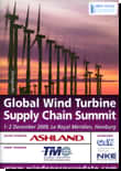 Global Wind Turbine Supply Chain Summit 2009