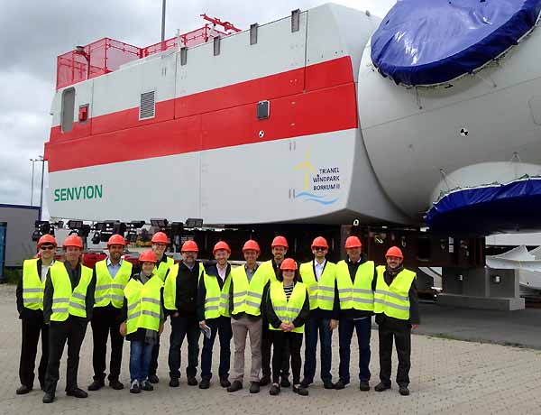 Brazilian Offshore-Delegation in Germany