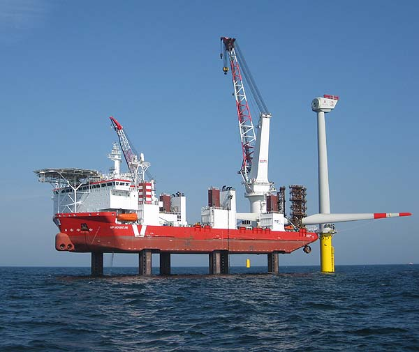 Construction of the offshore wind farm 'Trianel Windpark Borkum' (Phase 1)